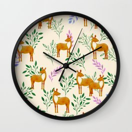 A Little Heaven Wall Clock