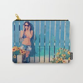 By The Fence Carry-All Pouch