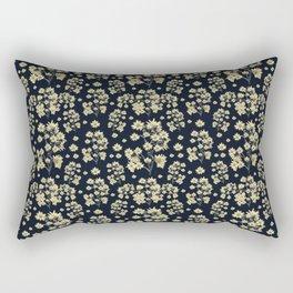 Sunflowers Floral Print Pattern Rectangular Pillow