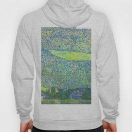 "Gustav Klimt ""Litzlberg on Lake Attersee"" Hoody"