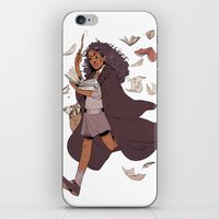 hermione iPhone & iPod Skins featuring Hermione by batcii