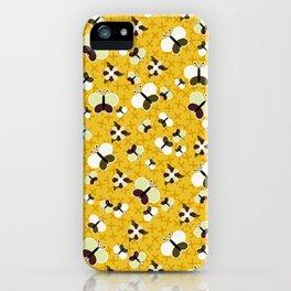 Crisscross Butterflies V.02 - Honey Color iPhone Case