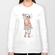 Hail Satin Long Sleeve T-shirt