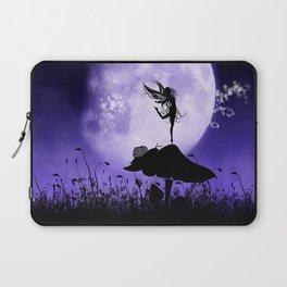 Fairy Silhouette 2 Laptop Sleeve