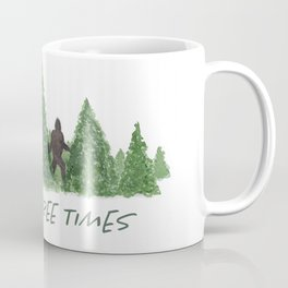 Gone Squatchin' Knock Three Times Coffee Mug