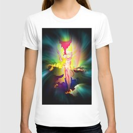 Heavenly appearance angel T-shirt