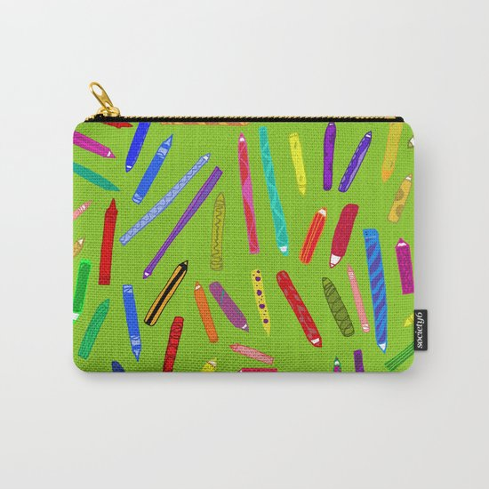 Fun loving crayons Carry-All Pouch