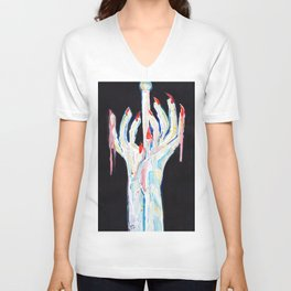 Witch Hands Unisex V-Neck