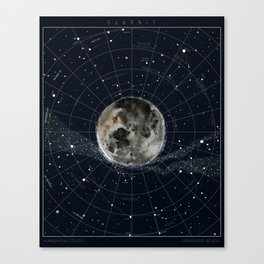 Pathfinder Night Canvas Print