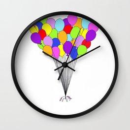Flight of the Unicorns Wall Clock
