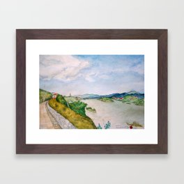 The Mekong Framed Art Print