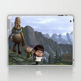Big Foot Rescue Laptop & iPad Skin