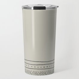 Simple Aztec Design Travel Mug