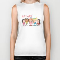 spice girls Biker Tanks featuring Spice Girls Kids by The Drawbridge