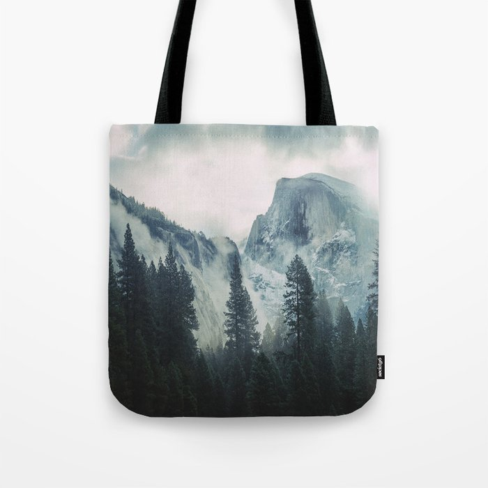Cross Mountains II Tote Bag