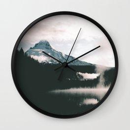 Mount Hood V Wall Clock