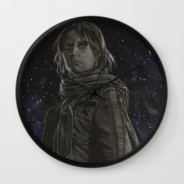 Jyn Erso Wall Clock