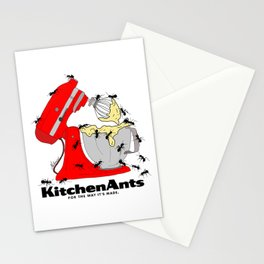 Kitchen Ants Stationery Cards