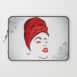 Lady Wrap (Red) Laptop Sleeve