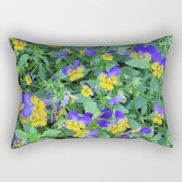 Flowers in Holland Rectangular Pillow