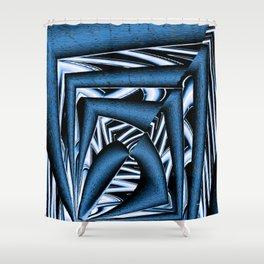 Feelin' the Blues.. Shower Curtain