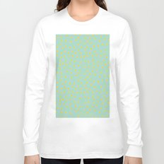 Yellow Pit on Mint /// www.pencilmeinstationery.com Long Sleeve T-shirt