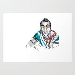 Bonnaroo Mo Art Print