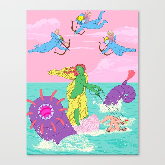 Galatea Canvas Print