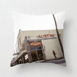 SOCO Shops (Austin, Texas) Throw Pillow