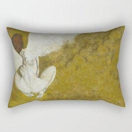 The Gold  Angel Rectangular Pillow