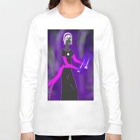 homestuck Long Sleeve T-shirts featuring Grimdark Rose by Paula Urruti