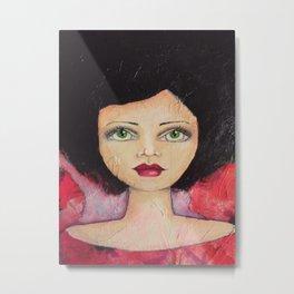 Bella SASS Girl - Cyndi - SASS = STRONG and SUPER SMART Metal Print