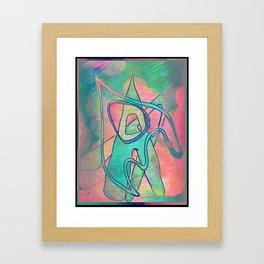 Something Good. Framed Art Print