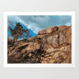 Maymont Peaks Art Print