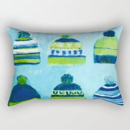 Caps Rectangular Pillow