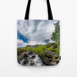 Cwm Idwal Rapids Snowdonia Tote Bag