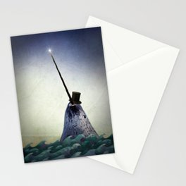 Pinky the Narwhal Stationery Cards
