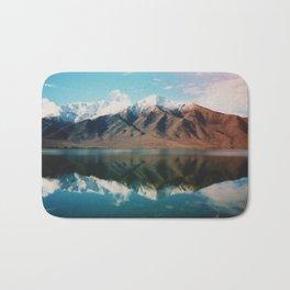 Film photo of New Zealand Glacier Landscape Bath Mat