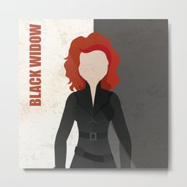 Black Widow Metal Print