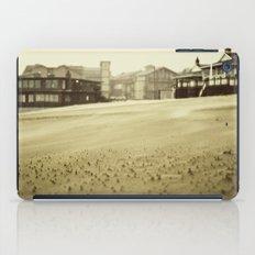 winter beach iPad Case