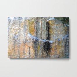 Colored Stone Metal Print