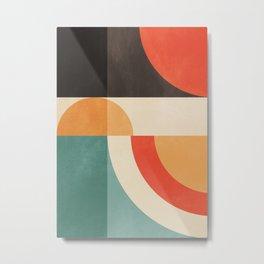 geometric abstract 20 Metal Print