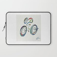 Bicycle - Zoomin' Through Laptop Sleeve