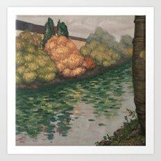 Donaukanal Art Print