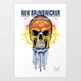 To The Core Collection: New Brunswick Art Print