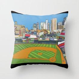 Minnesota Twins Target Field Throw Pillow