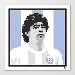 Maradona Canvas Print