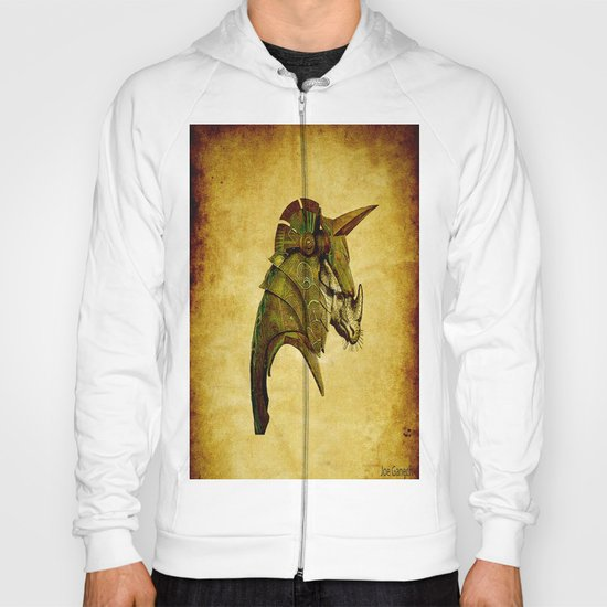 The rhinoceros in armor Hoody