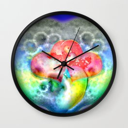 Bathing in love and soap ... Wall Clock