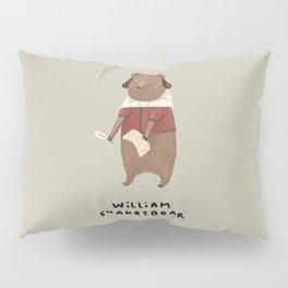 William Shakesbear Pillow Sham
